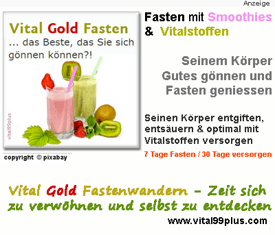 Fasten mit Smoothies und Powerdrinks