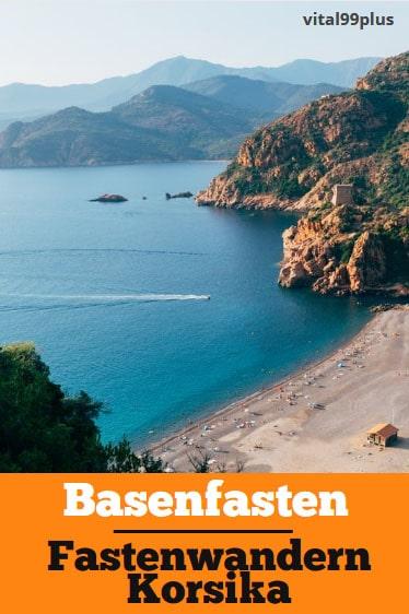 Basenfasten und Fastenwandern auf Korsika